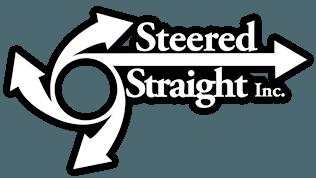 Steered Straight white